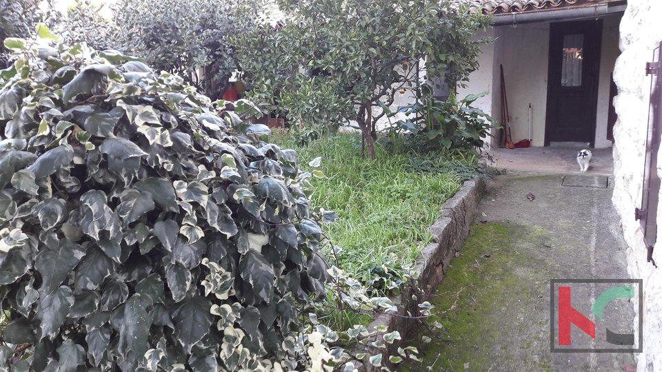 Rovinj, Zentrum Haus mit zwei Wohnungen und Garten
